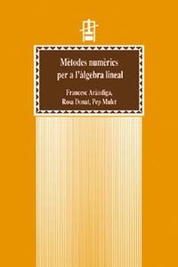 Mètodes numèrics per a l'àlgebra lineal