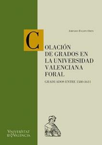 Colación de grados en la Universidad Valenciana Foral