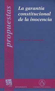 La garantía constitucional de la inocencia