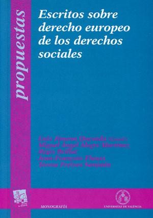 Escritos sobre derecho europeo de los derechos sociales