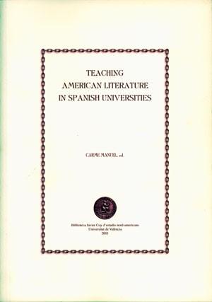 Teaching American Literature in Spanish Universities