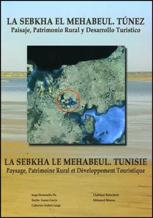 La Sebkha el Mehabeul.Túnez
