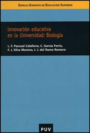 Innovación educativa en la Universidad: Biología