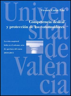 Competencia desleal y protección de los consumidores