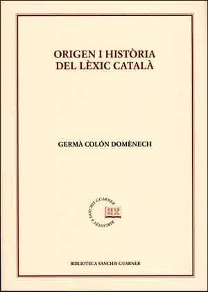 Origen i història del lèxic català