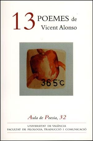 13 poemes de Vicent Alonso
