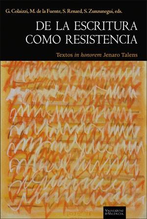 De la escritura como resistencia