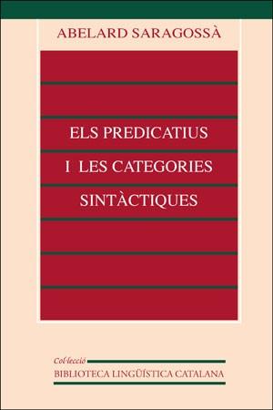El predicatiu i les categories sintàctiques