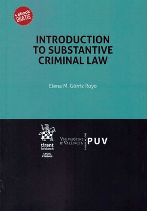 Introduction to Substantive Criminal Law