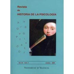 Revista de HISTORIA DE LA PSICOLOGÍA, Vol. 30 núm.4