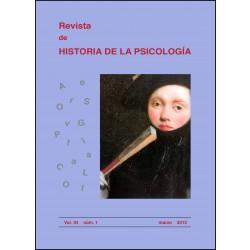 Revista de Historia de la Psicología, 34.1