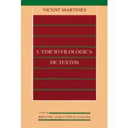 L'edició filològica de textos