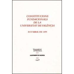 Constitucions fundacionals de la Universitat de València