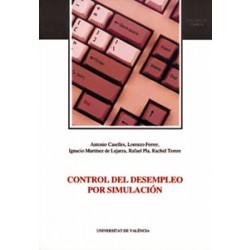 Control del desempleo por simulación