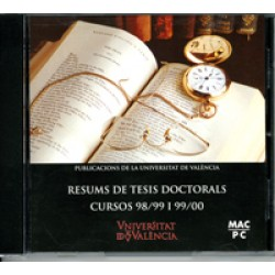 Resums de Tesis Doctorals. Cursos 98/99 i 99/00