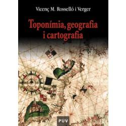 Toponímia, geografia i cartografia