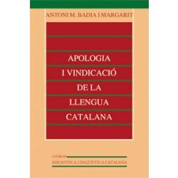 Apologia i vindicació de la llengua catalana