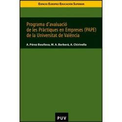 Programa d'avaluació de les pràctiques en empreses (PAPE) de la Universitat de València
