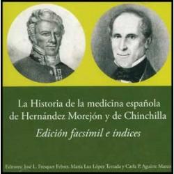 La historia de la medicina española de Hernández Morejón y de Chinchilla