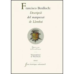 Francisco Benlloch. Descripció del marquesat de Llombai