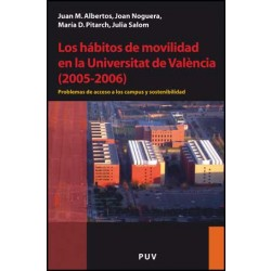 Los hábitos de movilidad en la Universitat de València (2005-2006)