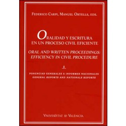 Oralidad y escritura en un proceso civil eficiente (vol. I)