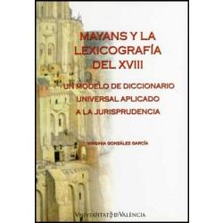 Mayans y la lexicografía del XVIII