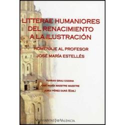 Litterae Humaniores del Renacimiento a la Ilustración