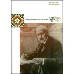 Catàleg de la producció musical de Salvador Giner