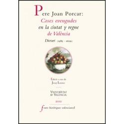 Pere Joan Porcar: coses evengudes en la ciutat y regne de València