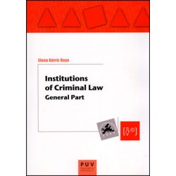 Institutions of Criminal Law
