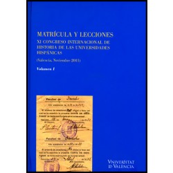Matrícula y lecciones (2 vol.)