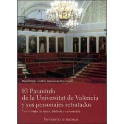 El Paraninfo de la Universitat de València y sus personajes retratados