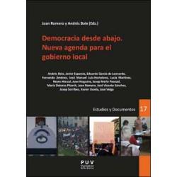 Democracia desde abajo. Nueva agenda para el gobierno local