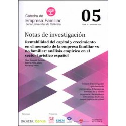 Rentabilidad del capital y crecimiento en el mercado de la empresa familiar vs no familiar