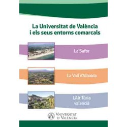 La Universitat de València i els seus entorns comarcals