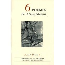 6 poemes de D. Sam Abrams