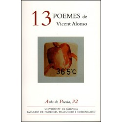 13 poemes de Vicent Alonso