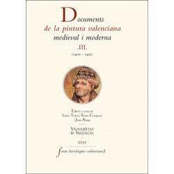 Documents de la pintura valenciana medieval i moderna III