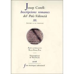 Inscripcions romanes del País Valencià, III