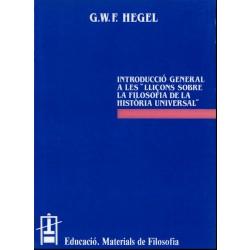 Lliçons sobre la Filosofia de la Història Universal. Introducció General