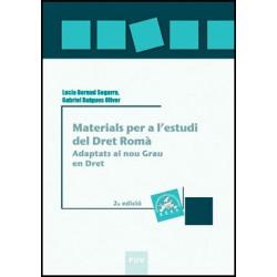 Materials per a l'estudi del Dret Romà, 2a ed.