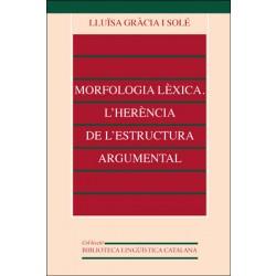 Morfologia lèxica. L'herència de l'estructura argumental