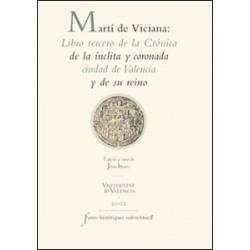 Martí de Viciana: Libro tercero de la Crónica de la ínclita y coronada ciudad de Valencia y de su reino