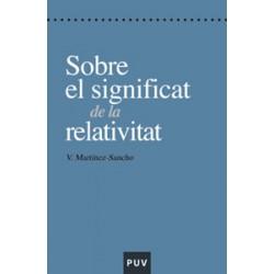 Sobre el significat de la relativitat