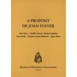 A propòsit de Joan Fuster
