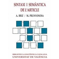 Sintaxi i semàntica de l'article (2a ed.)