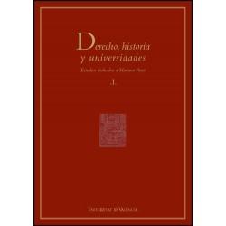 Derecho, historia y universidades (2 vols.)