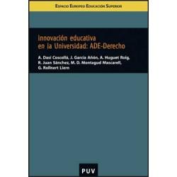 Innovación educativa en la Universitat: ADE-Derecho