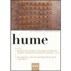 Hume. Leyendo el resumen de un libro recientemente publicado titulado «Tratado de la naturaleza humana» (1-25), y la «Investigación sobre los principios de la moral» (Apéndice I)